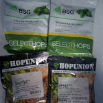 Hops for sour beer dry hopping experiment #2.